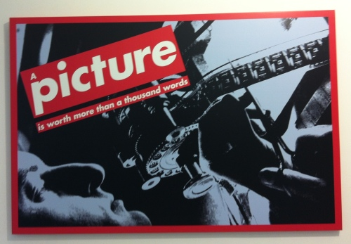 Barbara Kruger, Untitled, 1992. MAMAC Museum, Nice, France. Photo: Unni Holtedahl