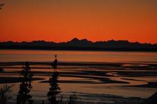 A view from an Alaskan window