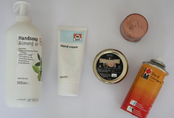 DIY bath accessories