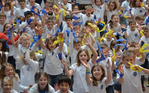 European kids. Photo: Unni Holtedahl.