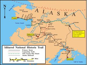 The Iditarod historic trails