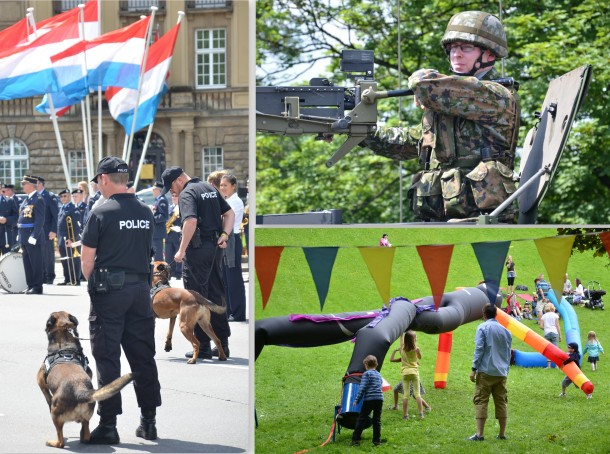 National day at a glance. Photos: Unni Holtedahl