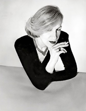 Andrée Putman. Photo by Serge Lutens