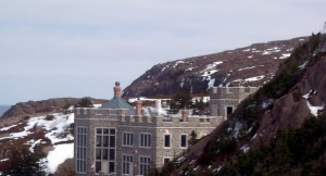 An American billionaire fell in love with Newfoundland and its people after 9/11, so he came back and built a mansion in St. John's inlet, The Narrows.