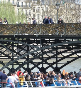 Paris boat trip. Photo: Unni Holtedahl