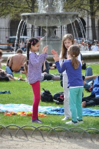Beautiful Paris parks for children. Photo: Unni Holtedahl