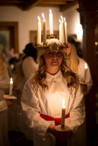 Sankta Lucia. Photo credit: Cecilia Larsson/imagebank.sweden.se