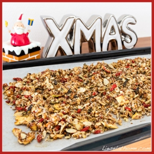 muesli on tray