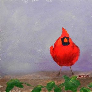 Northern Cardinal by Sue Ellen Eatrides