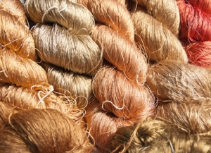 Raw silk thread. © Boss1418 | Dreamstime.com