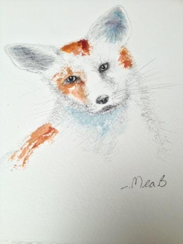 Foxy, the Rock-a-Field mascot