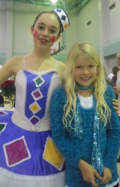 Good memories: backstage at the Houston Opera after the Nutcracker