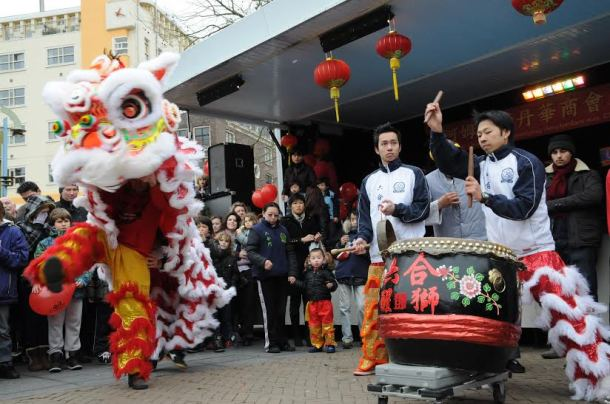 Chinese New Year celebration. Photo: Anje Kirsch