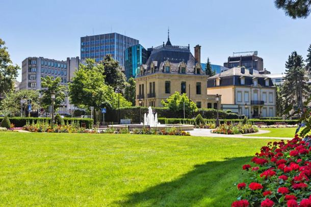 Gardens of Luxembourg city. Photo: Lisa Fuchs