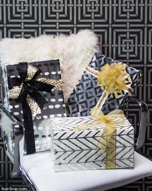 Wrapping ideas: www.paintandpattern.com