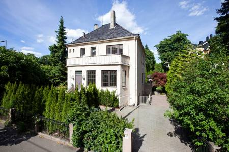 My home is my castle, and now I'm back in Oslo for good, next to the Vigeland Park.